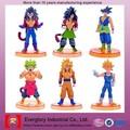 Brinquedo dos desenhos animados figura, hot brinquedos figuras de ação, material de pvc e estilo japonês figura dragon ball anime estatueta ação