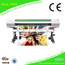 Roll to roll digital printer using dx7 heads