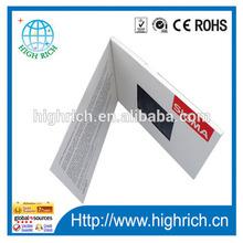 OEM advertisement printed video card / advertising screen