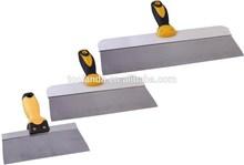 3 PC de aço inoxidável DRYWALL faca gravando conjunta PUTTY SPACKLE DIY gesso ferramentas