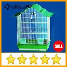 Hot selling steel round bird cage wire mesh & wooden bird cage