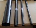 quadrado e redondo galvanizado e preto tubos de ferro