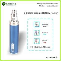 wholesale Han Ge battery core design ego e cigarette ego vapor gs ego ii 2200mah battery