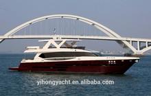 high quality fiberglass 95ft luxury yacht