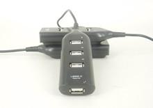 Custom Logo Power Bar Style USB 2.0 4-Port Hub (50-cm Cable)