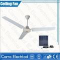 la energía solar para el hogar uso tropical del ventilador de techo