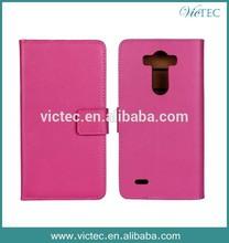 Cheap good quality PC+PU Quick Circle Smart Phone Case For LG G3