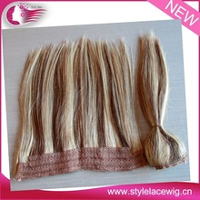 supply 7A grade full head top quality double drawn Indian remy flip in hair