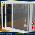 fábrica atacado padrões australianos de vidros duplos dois faixa janela deslizante de alumínio