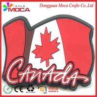 Custom Eco-friendly PVC/silicone popular decoration promotional 3d fridge magnet