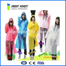 Outdoor Waterproof Windproof Adult Rain Coat