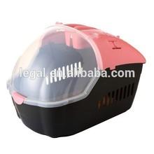 LPP-013S popular pet dog carrier pet travel box pet plastic box /plastic cat house/pet kennel
