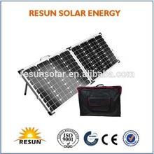 100watt folding portable solar panel kit --- Factory direct sale