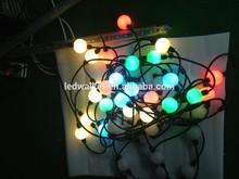 addressable individual control 3D rain drop led ball light
