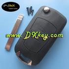 2 button flip key shell (HU100 blade) for Opel car key Opel key cover