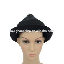 Children size faux wool felt hat