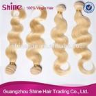 Russia blond hair Most Popular 100% Virgin european hair color 613