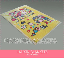 Super soft new born baby blanket in different size