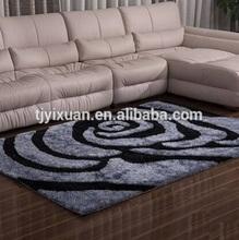 3CM polyester modern shaggy rugs for living room