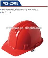 elastic chinstrap safety helmet