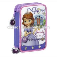 sofia girls pencil case /pencil bag for students