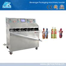 Semi-auto plastic bag water filling and sealing machine