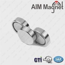 Neodymium magnet metal shield monopole strong magnet