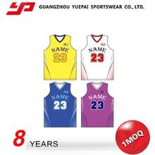 Hot Sales Good Quality Soft Womens Basketball Uniform Design