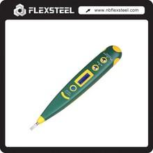 AC/DC 12-220V Electrical Pocket Digital Voltage Tester Pen with Light