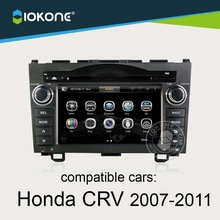 """7"""" touch screen car radio dvd player with GPS navigation for Honda CRV 2007 to 2011"""