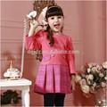 Crianças coreano roupas atacado/2015 vestidos estilo novo/outono e inverno boutique de roupas infantis