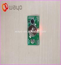 3 LED lights Red blinking led solar lights/light flasher unit