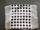 Customized dot print 100%Silk Short Satin Scarf