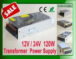 led power adapter 12v 120w power supply