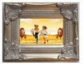 الفضة الخشبية العتيقة 16x20'' النفط اللوحة إطارات الصور