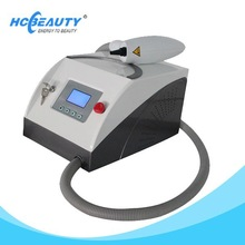 Q switched nd yag laser beauty spot removal