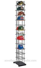 variety black floor 12 tiers hat display rack