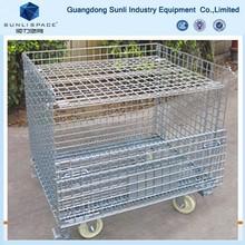 Folding Steel Welded Wire Storage Cage