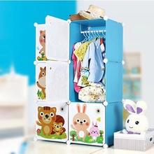 New cartoon design kids plastic toy storage rack sale as Christmas gift (FH-AL0022-6K)