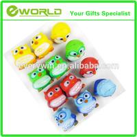 cheap anti stress toys tiger bouncing toy animal shaped stress ball
