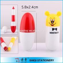 Promotional novelty gift fat mini ball pen