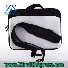 Customize Logo 3mm Thick Neoprene Laptop Messenger Bag