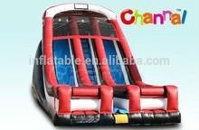 inflatable dual lane slide/titanic inflatable slide