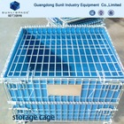 Metal Pallet Box Container Cage