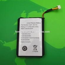 2015 Newest 583759 1S2P 3.7V 2700mAh Li-ion Polymer Battery
