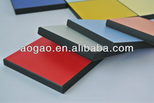 Aogao 12mm compact high pressure HPL formica sheet sizes
