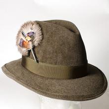 beautiful feather hat /German Oktoberfest hats