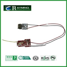 E-Cigarettes Vape Pen X6 Micro USB Printed Circuit Board / Vapor Pen Battery Control Board PCB&PCBA manufacture