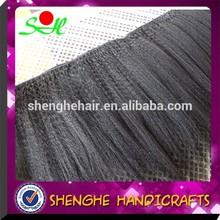 No tangle No shedding Can be dyed Brazilian yaki human hair ponytail