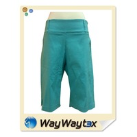 2015 fashion design outdoor sports golf stretch women's pants made in China